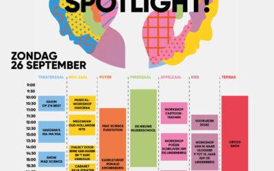 Cultuur in de spotlight! – 26 september